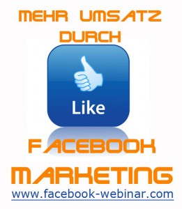 Webinar: Wir funktioniert Facebook Marketing?