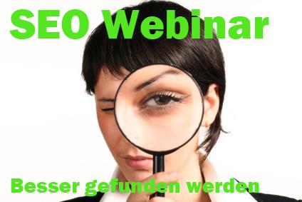 """Webinar: SEO – """"Verbessern Sie Ihr Google Ranking"""""""
