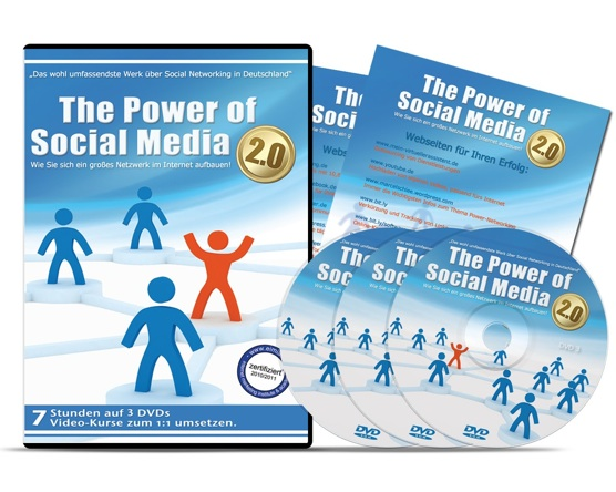 DVD – The Power of Social Media 2.0 – Schnell 100 EUR Bonus sichern