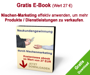 "Gratis E-Book ""Nischen-Marketing"""