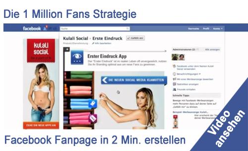 Kulali Social – Virale Facebook Fanpage Strategie