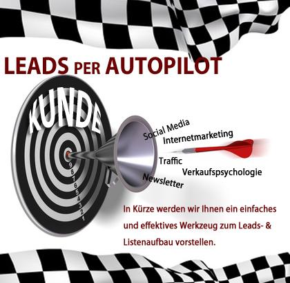 Leads per Autopilot – Interessenten im Schlaf finden