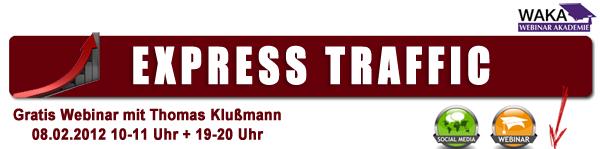 """Gratis Webinar """"5 Tipps zu mehr Traffic"""""""