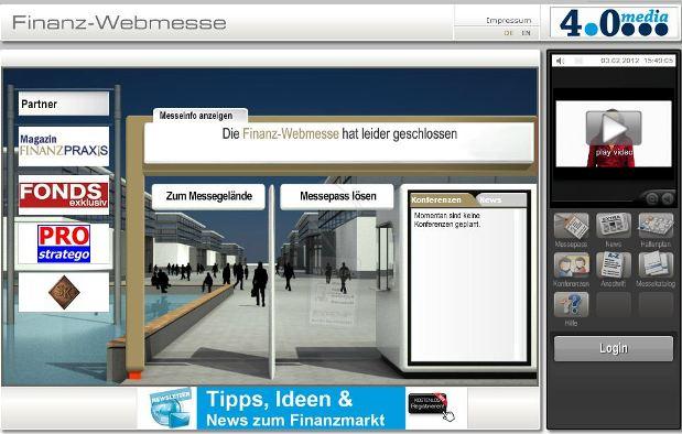 """Projekt """"Finanz-Webmesse"""" sucht neuen Betreiber"""