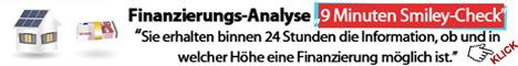Finanzierungs-Analyse innerhalb von 24 Stunden in Wien und Niederösterreich