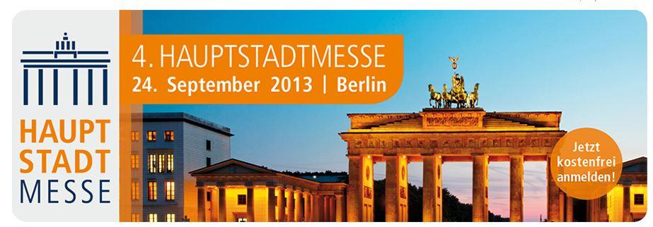 4. Hauptstadtmesse der Fonds Finanz in Berlin am 24.09.2013